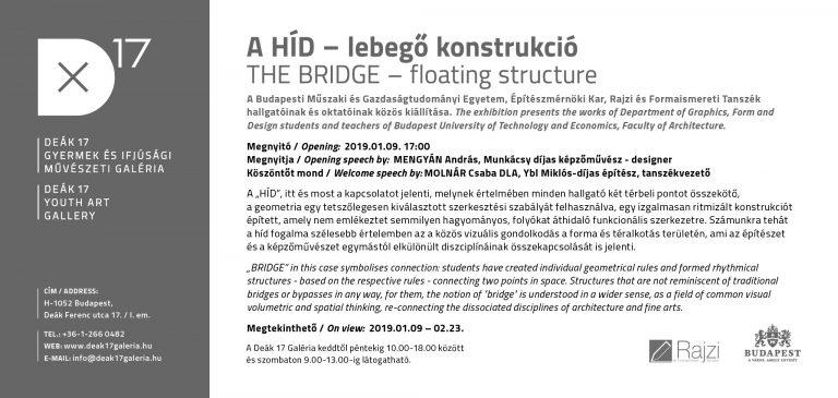 A HÍD – Lebegő konstrukció