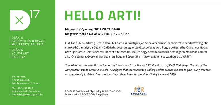 Hello Arti! – kiállítás