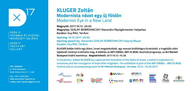 Zoltán Kluger – Modernist Eye in a New Land