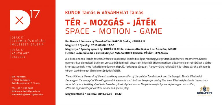 SPACE – MOTION – GAME