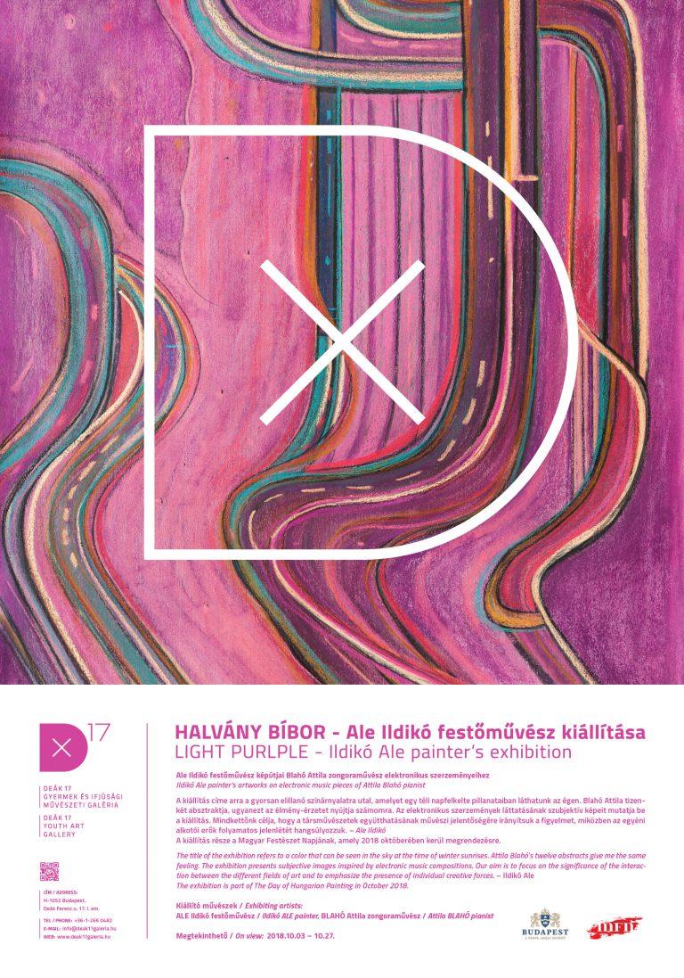 Light Purple – Ildikó Ale painter's exhibition