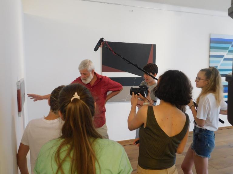 Filmes Nyári Tábor a Deák17 Galériában