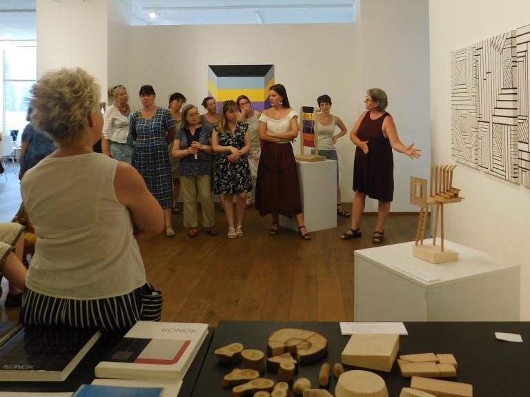 Múzeumpedagógiai szakmai nap a Tér-Mozgás-Játék kiállításhoz