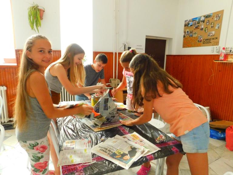 Környezetvédelmi nyári tábor Pilisszántón