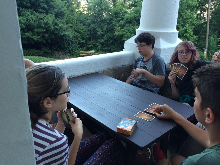 Beszámoló az angol nyelvű nyári táborról