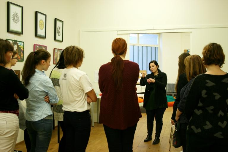 Fonallámpa készítő workshop