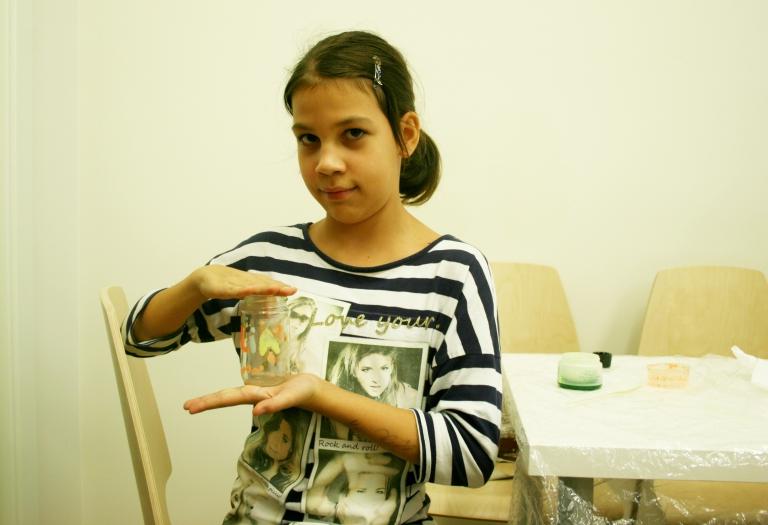 Luminous jar – Museum education programme