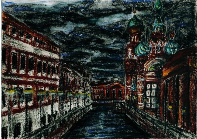 PÁLYÁZAT: Szentpétervári rajzpályázat