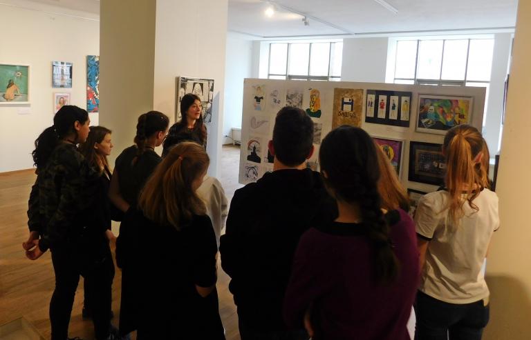 Múzeumpedagógiai foglalkozások a Virtuális ikonok kiállításhoz