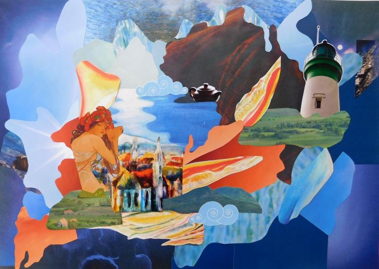 Álmodj magadnak egy országot! – foglalkozás Maia Flore Imagine France kiállításához