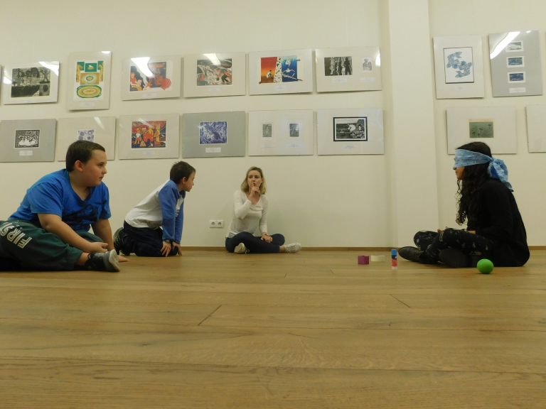 Water games – workshop for the Water-mark exhibition