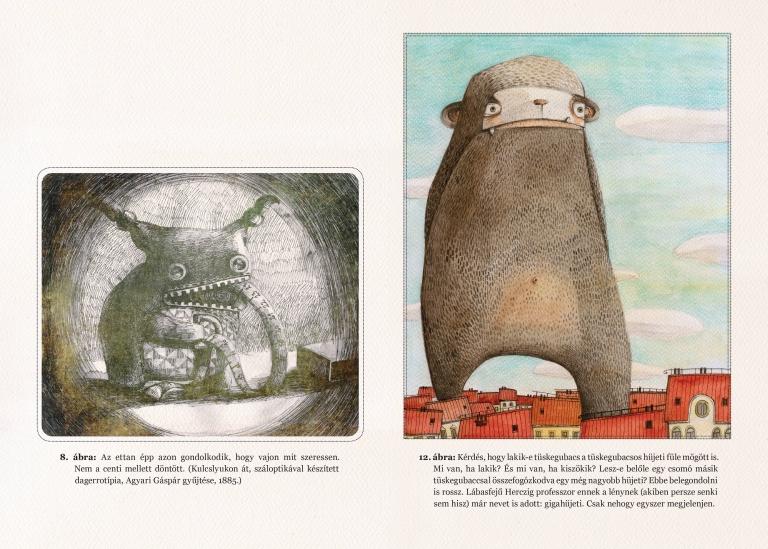 HIBRID FANTÁZIALÉNYEK - Hanga Réka illusztrációi 1