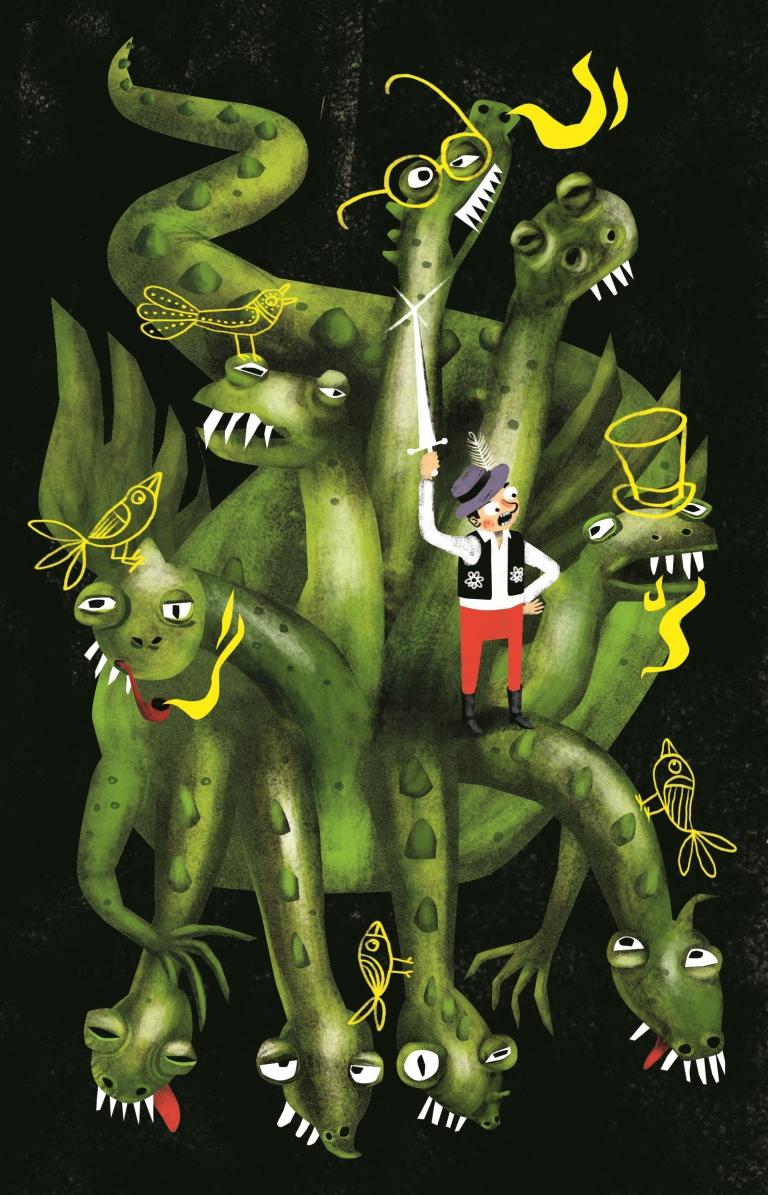 HŐS-HARCOS - Nagy Norbert illusztrációja