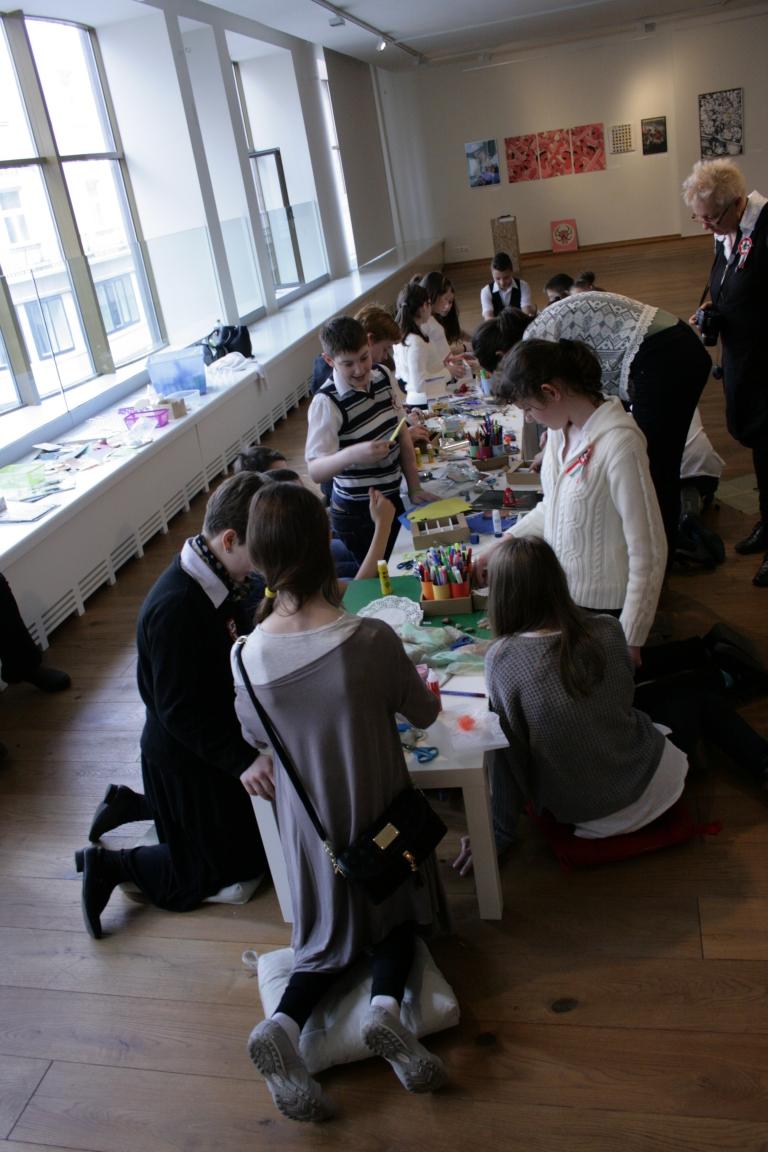 Múzeumpedagógiai foglalkozások a GYÍK40 kiállításhoz