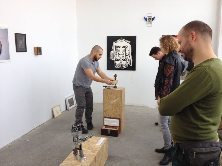 Maschinenmench –  Travelling exhibition in the brushfactory