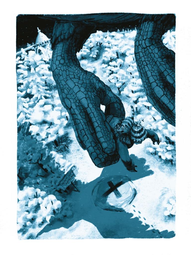 SÁRKÁNYOK - Ferth Tímea illusztrációja 2