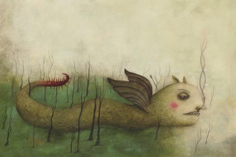 SÁRKÁNYOK - Rofusz Kinga illusztrációja