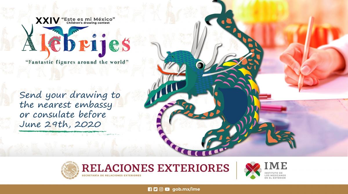 "featured_image*Children's Drawing Contest - ""Este es mi México"""