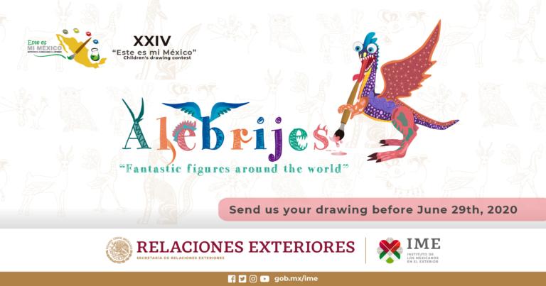 """XXIV. Children's Drawing Contest – """"Este es mi México"""""""