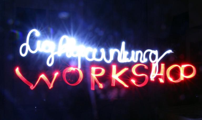 Lightpainting workshop