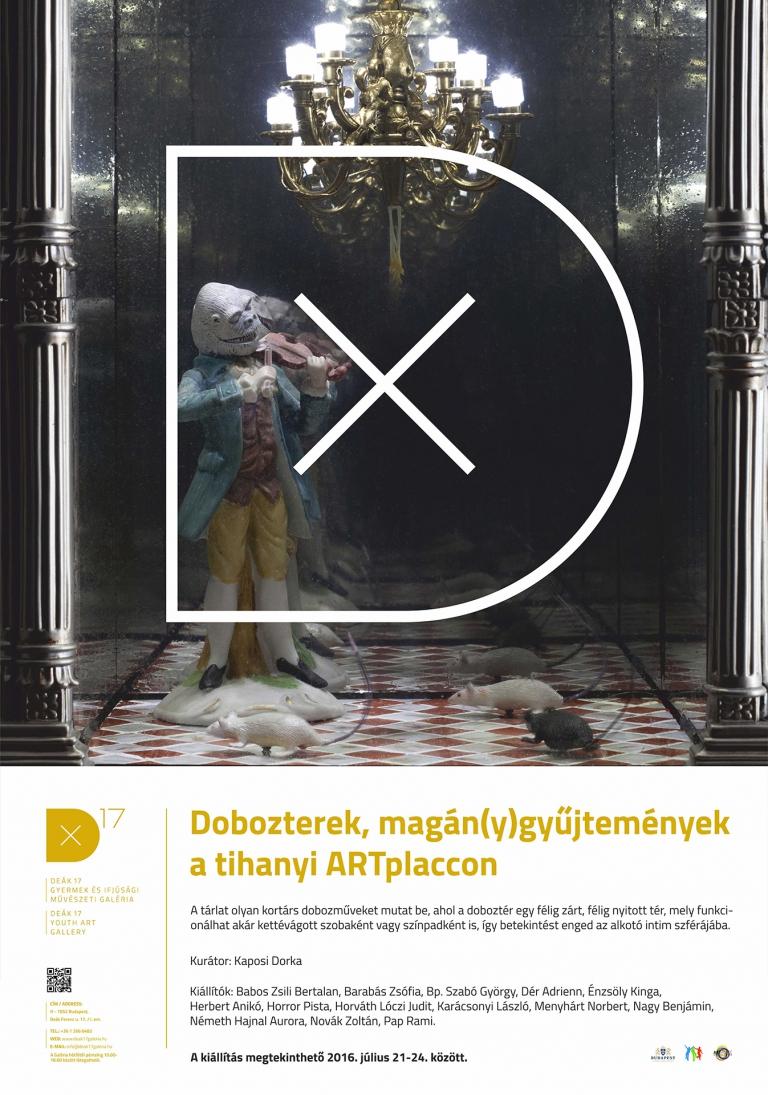 Dobozterek, magán(y)gyűjtemények a tihanyi ARTplaccon