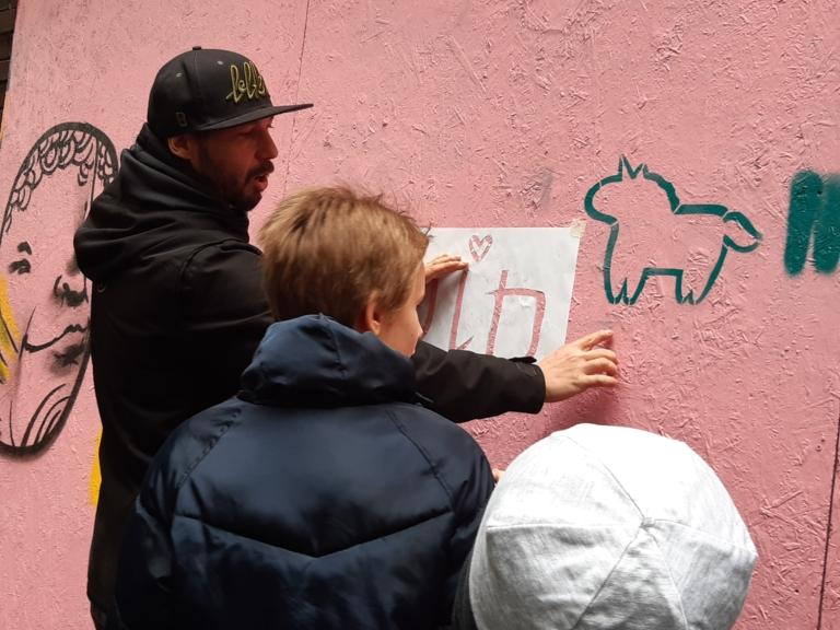 CSALÁDI GRAFFITI WORKSHOP X D17 X VOID és PETYKA